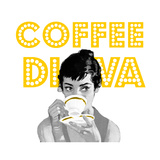 Coffee Diva Giclee Print