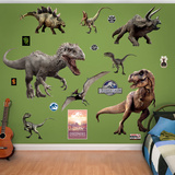 Jurassic World Dinosaurs Collection Wall Decal