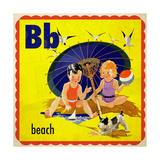 Vintage ABC- B Giclee Print