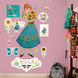 Anna - Frozen Fever Wall Decal