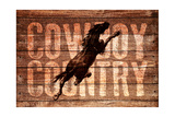 Cowboy Country Giclee Print