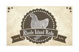 Rhode Island Reds 1 Giclee Print