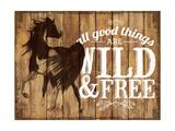 Wild & Free Giclee Print