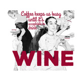 Coffee & Wine Giclee Print