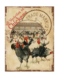 Chicken Varieties Giclee Print