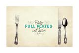 Full Plates Giclee Print