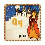 Vintage ABC-Q Giclee Print