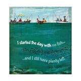 Fishing Irony Giclee Print