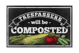 Composting Giclee Print