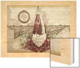 Italian Wine 2 Wood Print