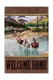 Welcome Home Cowboy Lámina giclée