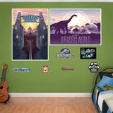 Jurassic World Souvenir Poster Murals Wall Mural