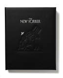 2017 Desk Diary Genuine Black Leather Desk Diary (no personalization)