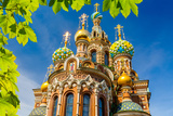 Church of the Savior on Spilled Blood in St. Petersburg, Russia Photographic Print by  sborisov