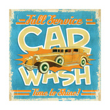 Car Wash Giclee Print