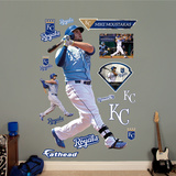 Mike Moustakas - Batting Wall Decal