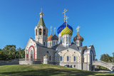 Church of the Holy Igor Chernigov Novo-Peredelkino. Photographic Print by  Sachkov