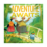 Adventure Awaits 2 Giclee Print