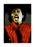 Michael Jackson - Thiller Giclée-tryk af Emily Gray