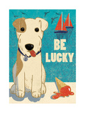 Be Lucky Giclee Print by  Rocket 68