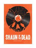 Shaun of the Dead Giclee Print by Chris Wharton
