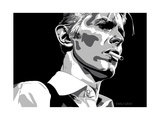 David Bowie - Thin White Duke Giclée-Druck von Emily Gray