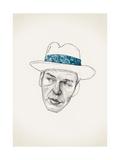 Sinatra Giclée-tryk af Jason Ratliff