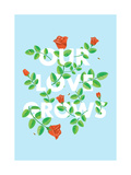 Our Love Grows Giclee Print by Chris Wharton