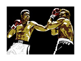 Muhammad Ali - Sting Like a Bee Giclee Print by Emily Gray