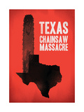 Texas Chainsaw Massacre Giclee Print by Chris Wharton