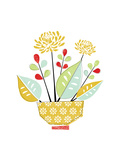 Flower Pot Giclee Print by Catherine Aguilar