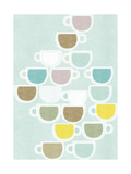 Flat White Giclee Print by Catherine Aguilar