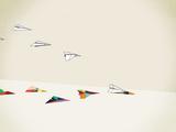 Paper Planes Impression giclée par Jason Ratliff