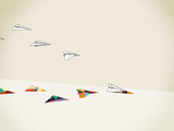Paper Planes Giclee Print by Jason Ratliff