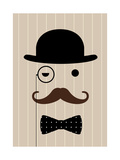 Gentleman Giclee Print by Dicky Bird