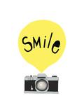 Hymyile, englanniksi Giclee-vedos tekijänä Seventy Tree