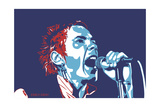 Johnny Rotten - God Save the Queen Giclee Print by Emily Gray
