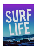 Surf Life Giclee Print by Leah Flores