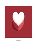 Heart Shaped Box: Nirvana Giclee Print by Christophe Gowans