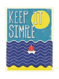 Keep it Simple Giclee Print by Dale Edwin Murray