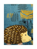 Hedgehog Giclee Print by  Rocket 68