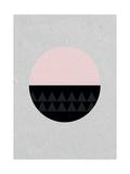 Circular Giclee Print by Seventy Tree