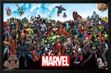 Marvel - The Lineup 15 Posters