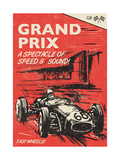 Grand Prix Giclee Print by  Rocket 68