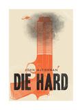 Die hard - vain kuolleen ruumiini yli Giclee-vedos tekijänä Chris Wharton