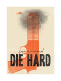 Die Hard Giclee Print by Chris Wharton