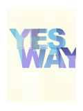 Yes Way Giclee Print by Philip Sheffield