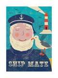 Ship Mate Giclee Print by  Rocket 68
