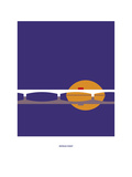 Waterloo Sunset: the Kinks Giclée-tryk af Christophe Gowans