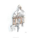 European Watercolor Sketches III Édition limitée par Ethan Harper